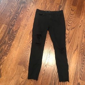 STS Blue Jeans - STSBlue Ashley High Rise Skinny Black Ripped Jeans
